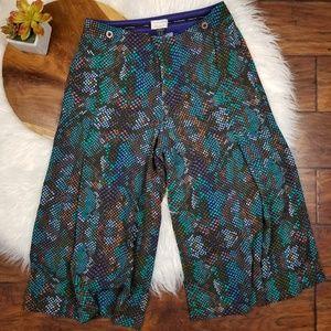 Anthropologie The Essential Culotte Boho Pants